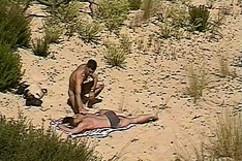 Derrière la dune