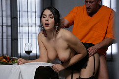 Valentina Nappi fucked by an inmate in the prisoner on dorcel vision - studio marc dorcel