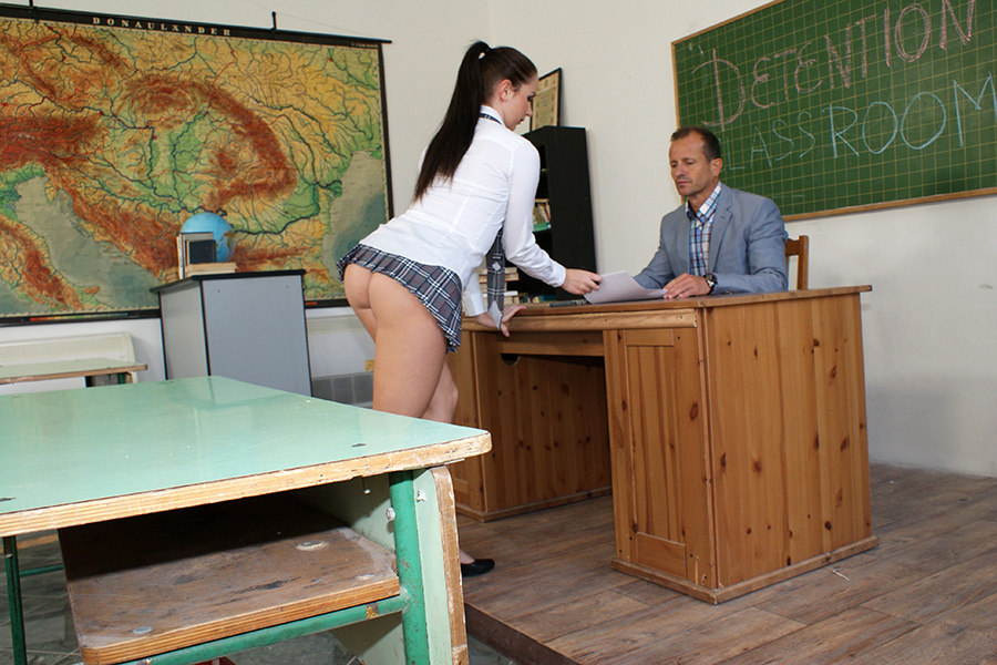 Schoolgirls And Teachers #4 : Detention Classroom, porn movie in VOD XXX -  streaming or download - Dorcel Vision