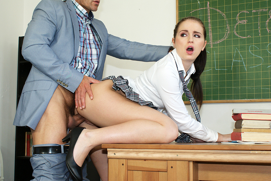 Teacher at school porn
