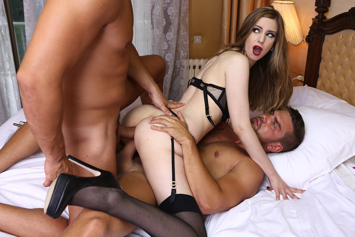 image Her limit stella cox in brutal dp threesome with two bbcs
