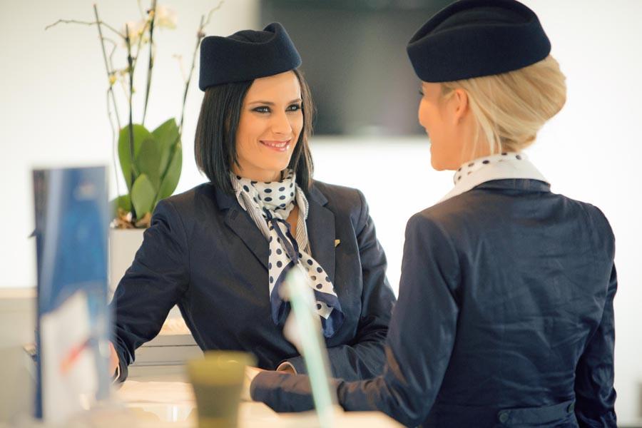 Stewardess lesbian porn