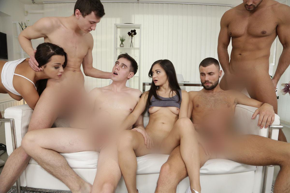 XXX familj orgie
