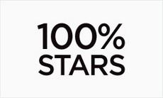 100% Stars