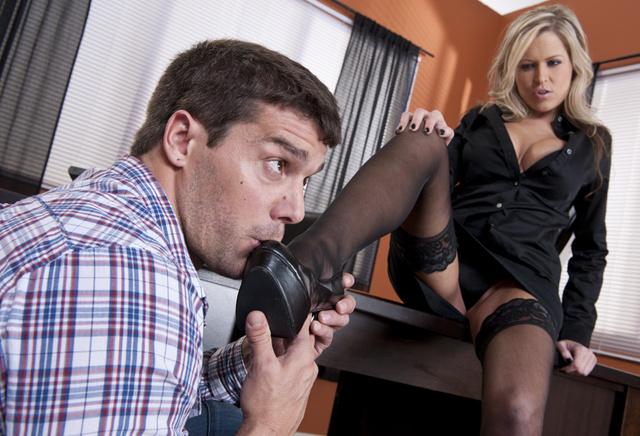 Big tits boss #22