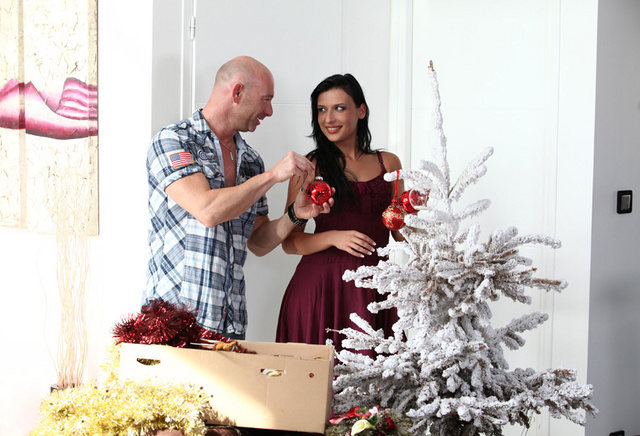 Santa's wife is a slut